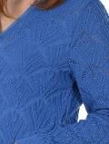 голубой темный